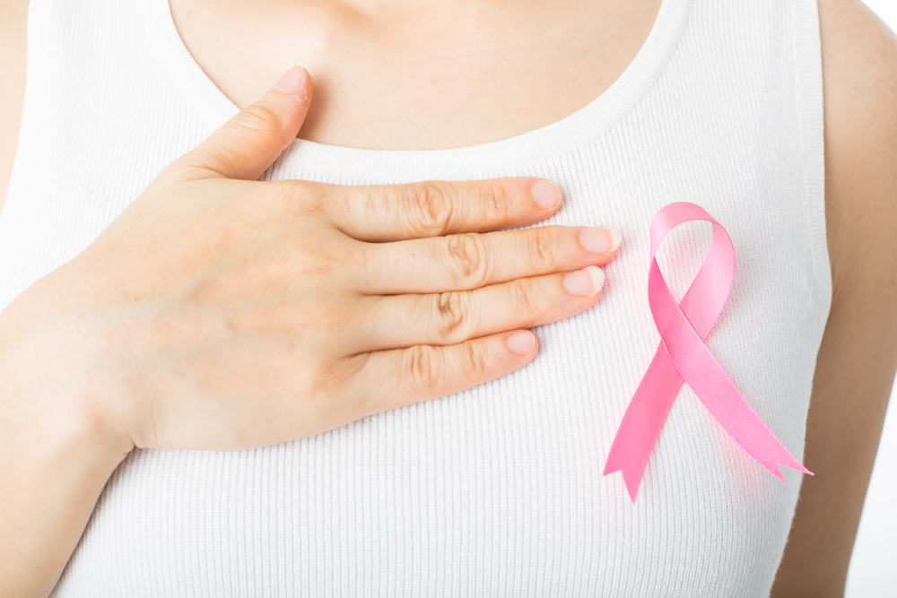 symptoms of stage one breast cancer